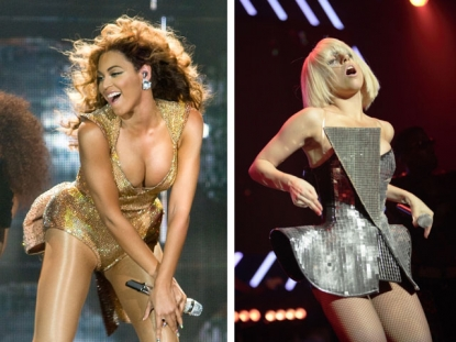 that Lady Gaga and Beyonce are sexualising young girls at an early age.